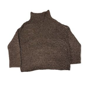 Aerie Neutral Chunky Knit Oversized Sweater - Women's Size Small